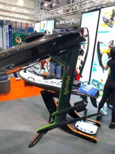 Jetsurf hybridfoil concept