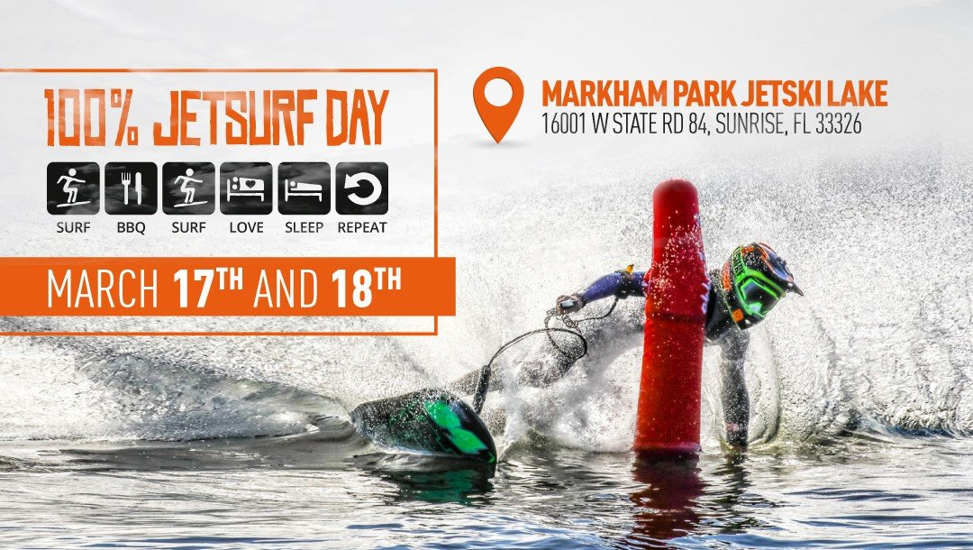 100 % Jetsurf day Miami